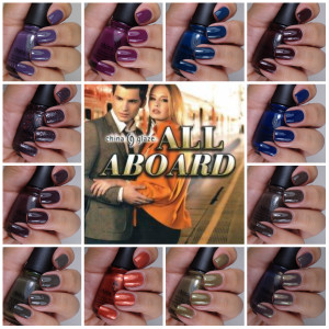 China Glaze All Aboard Collection Fall 2014