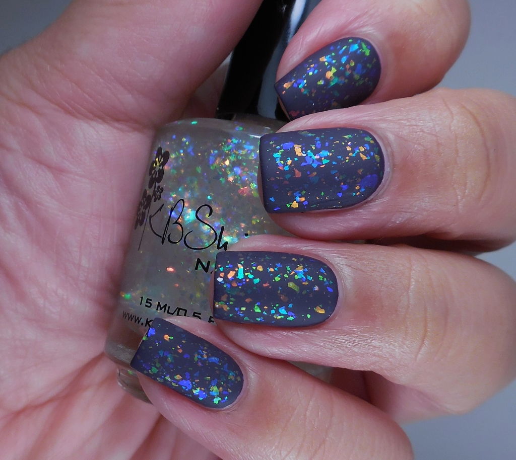 KBShimmer Rainbow Shield 3