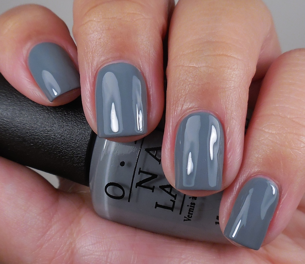 OPI Embrace the Gray 1