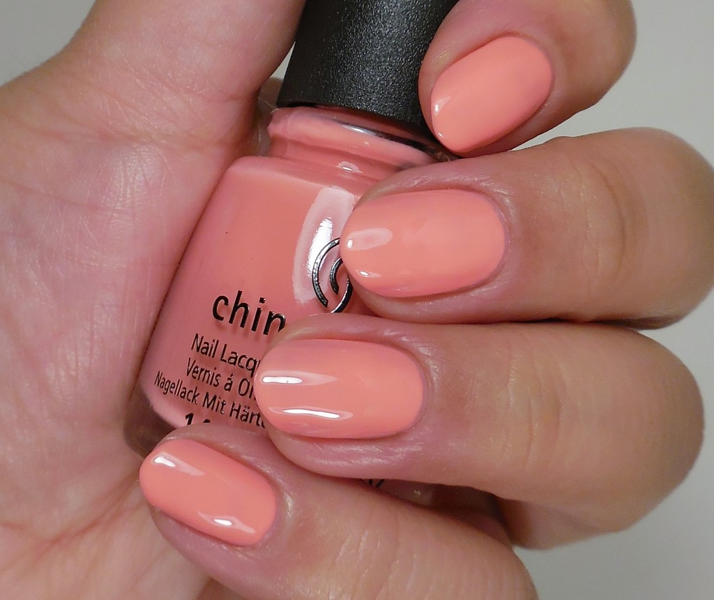 China Glaze Pinking Out The Window 2