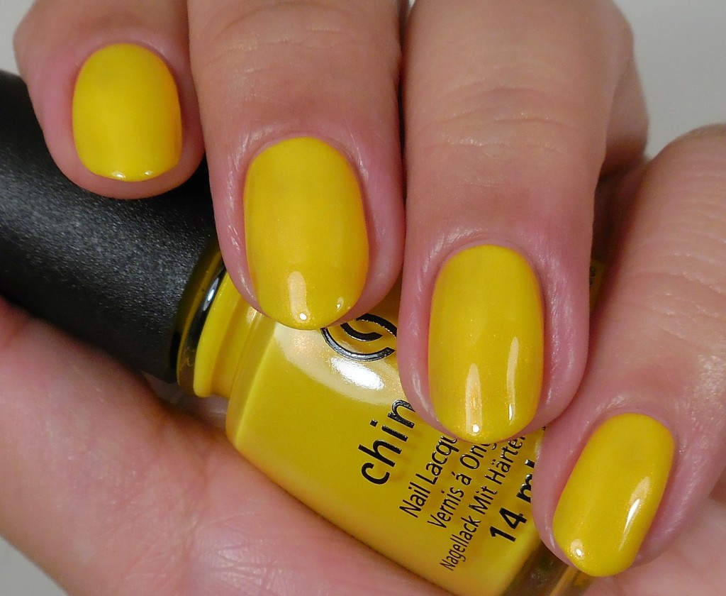China Glaze Sun's Up Top Down 1