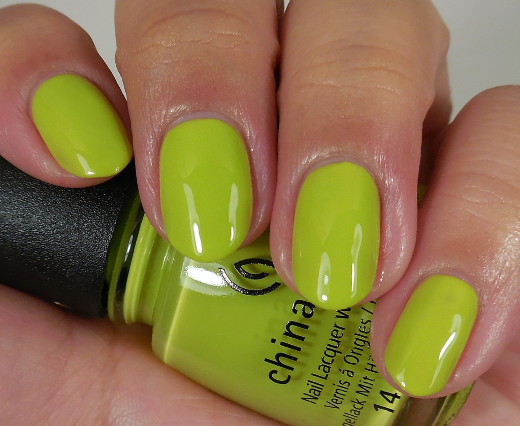 China Glaze Trip of a Lime Time 1