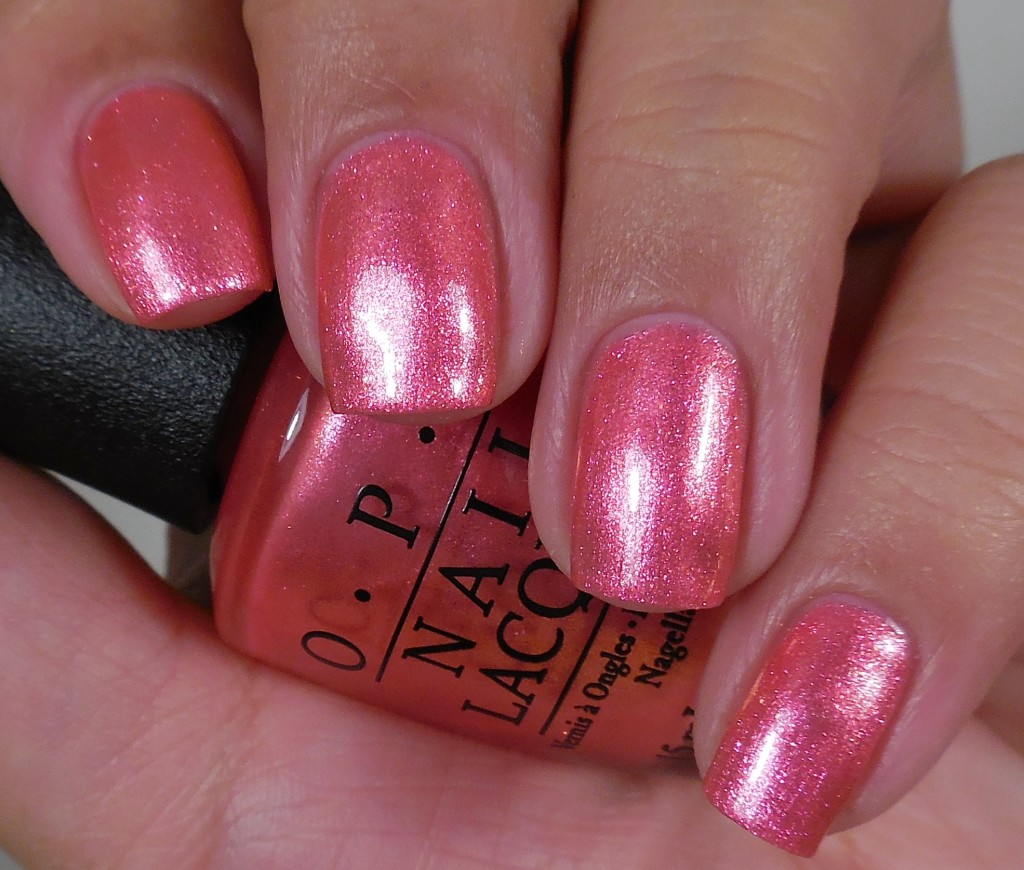 OPI I Can't Hear Myself Pink! 1