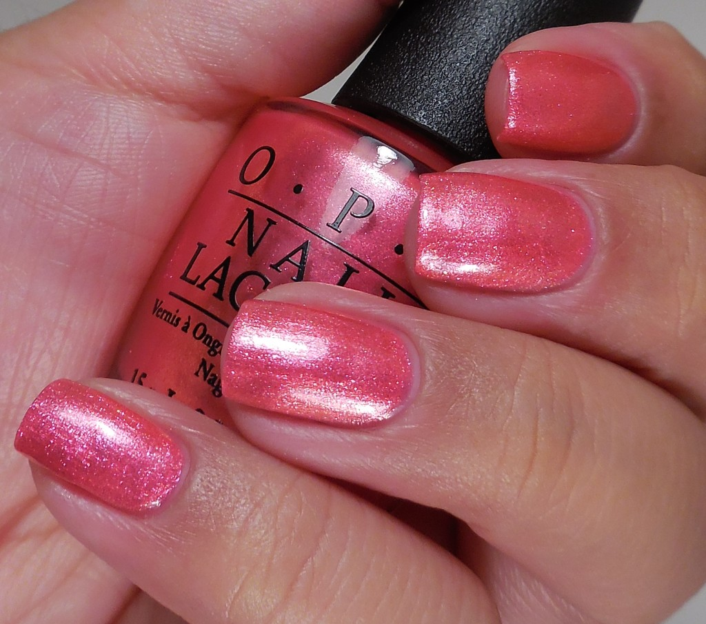 OPI I Can't Hear Myself Pink! 2