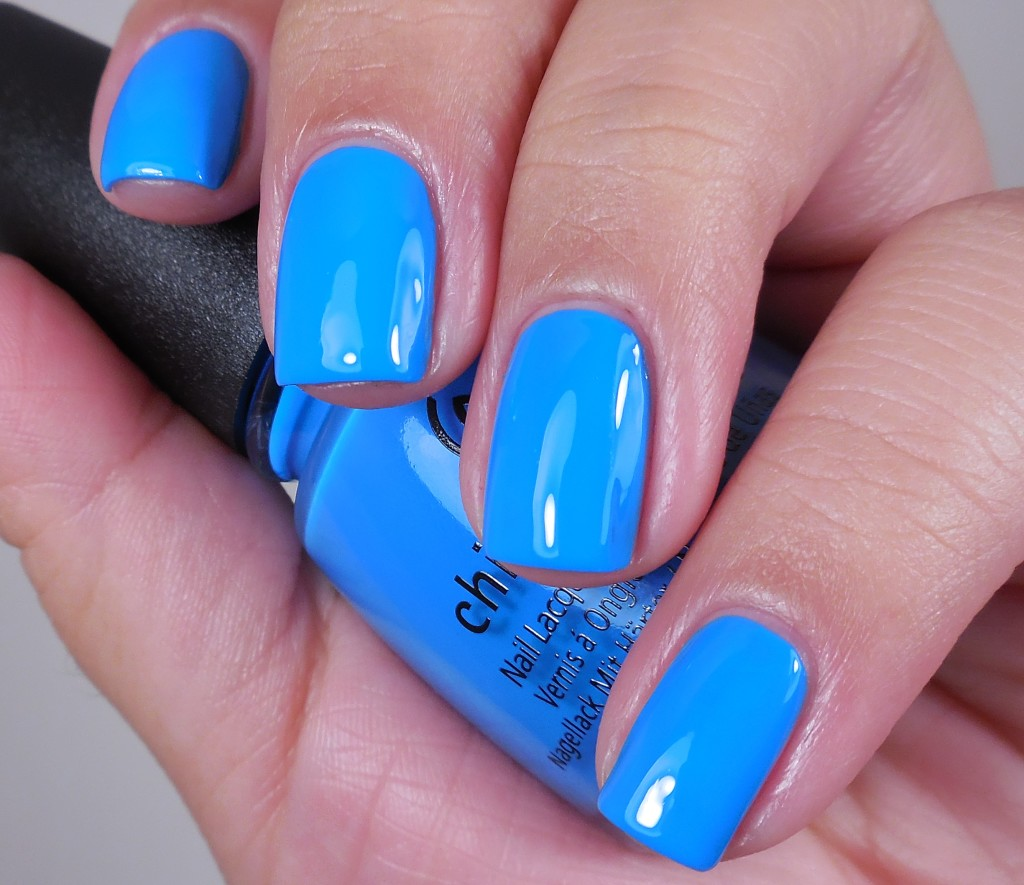 China Glaze DJ Blue My Mind 1