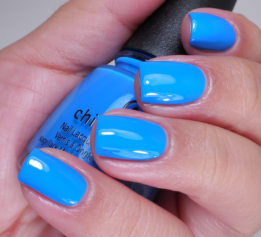China Glaze DJ Blue My Mind 2