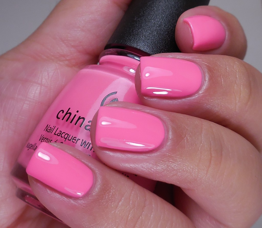 China Glaze Glow with the Flow 2