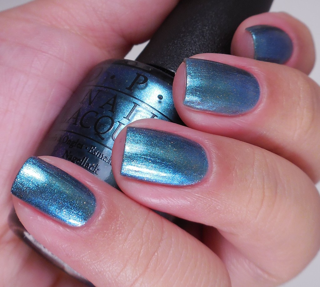 OPI This Color's Making Waves 2