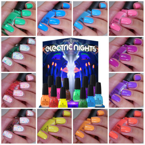 China Glaze Electric Nights Collection Summer 2015
