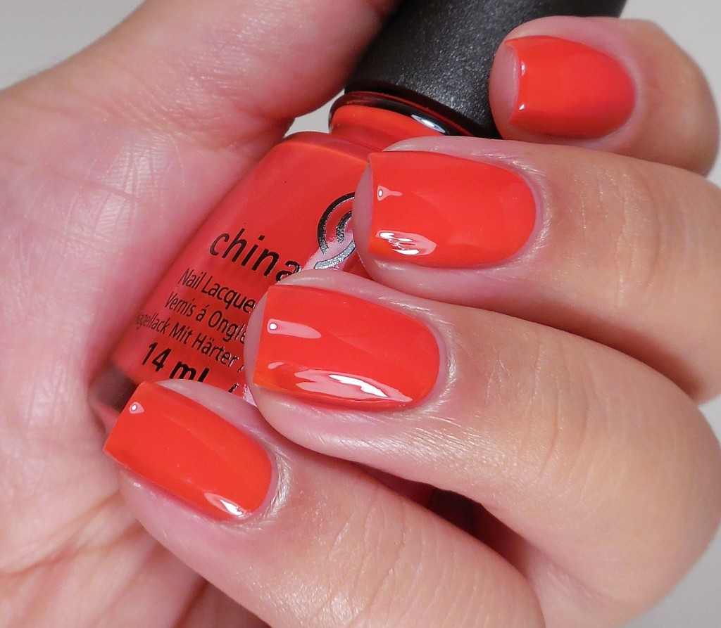 China Glaze The Heat is On 2