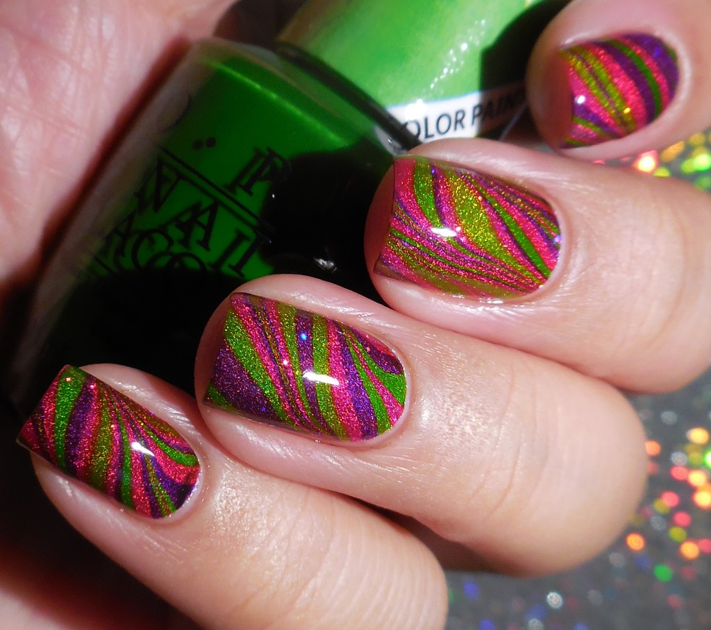 OPI Color Paints Watermarble 2