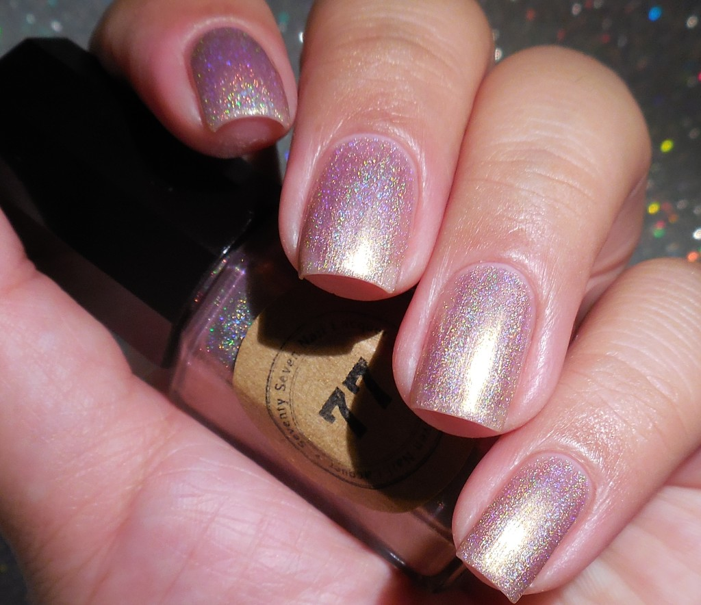 Seventy Seven Nail Lacquer Vintage Rose 1