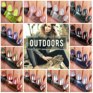 China Glaze The Great Outdoors Collection Fall 2015