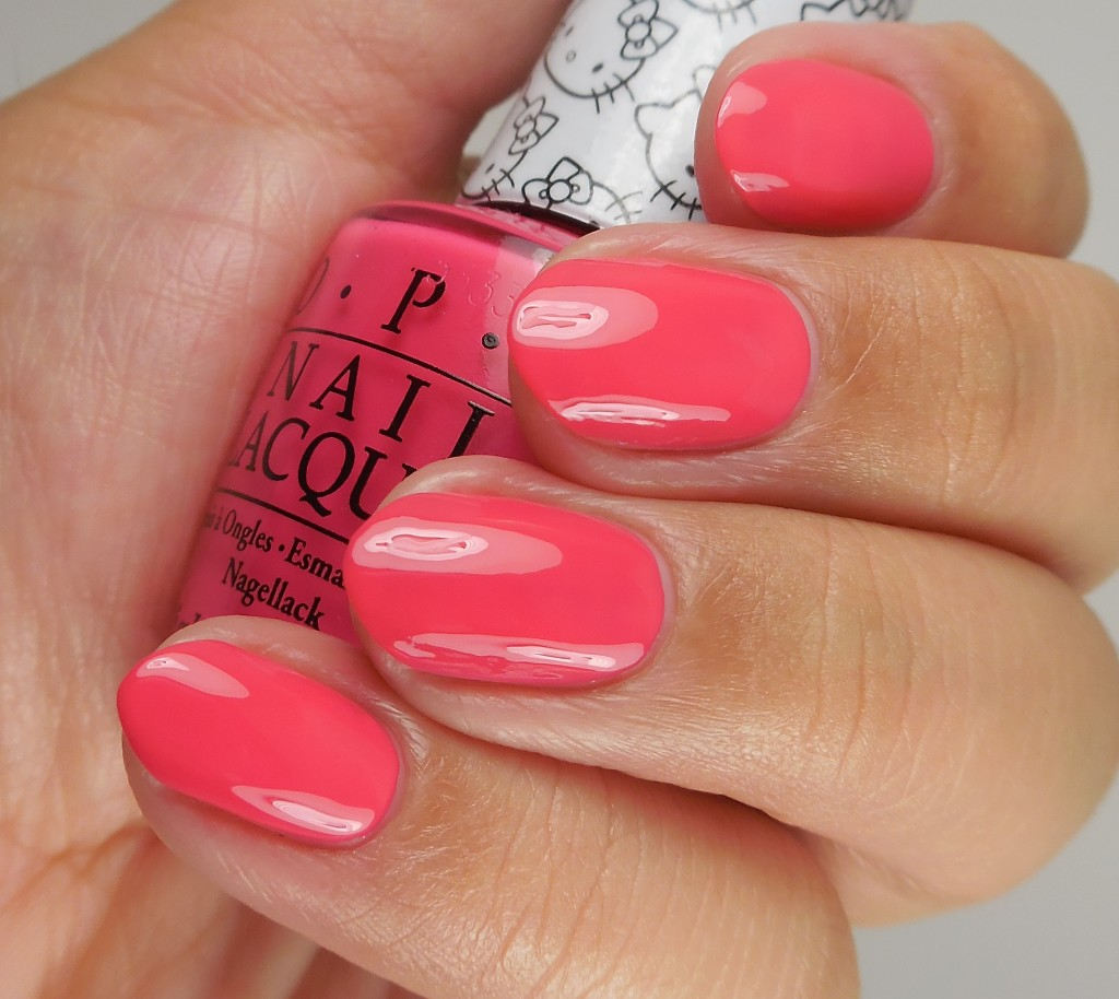 OPI Hello Kitty Collection Spoken From The Heart 2