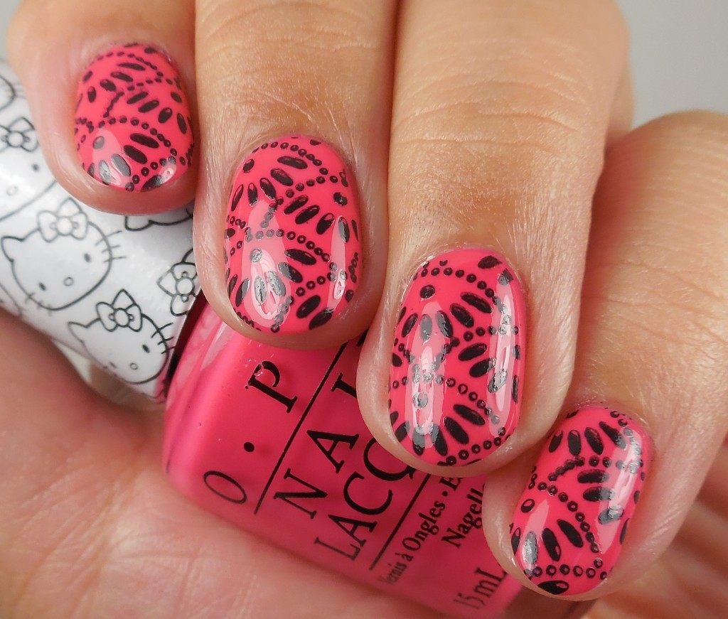 OPI Hello Kitty Collection Spoken From The Heart 3