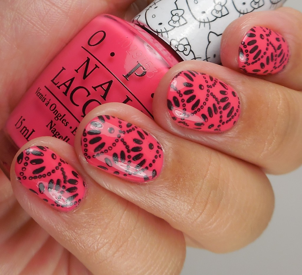 OPI Hello Kitty Collection Spoken From The Heart 4