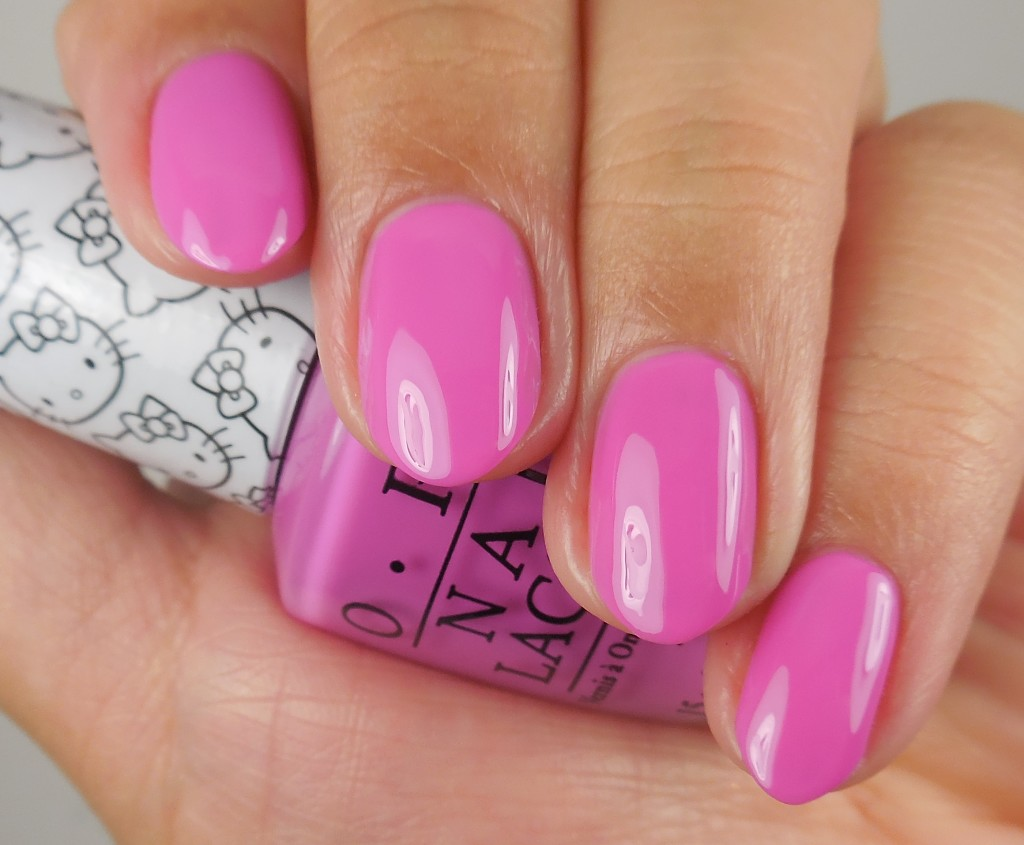 OPI Hello Kitty Collection Super Cute In Pink 1