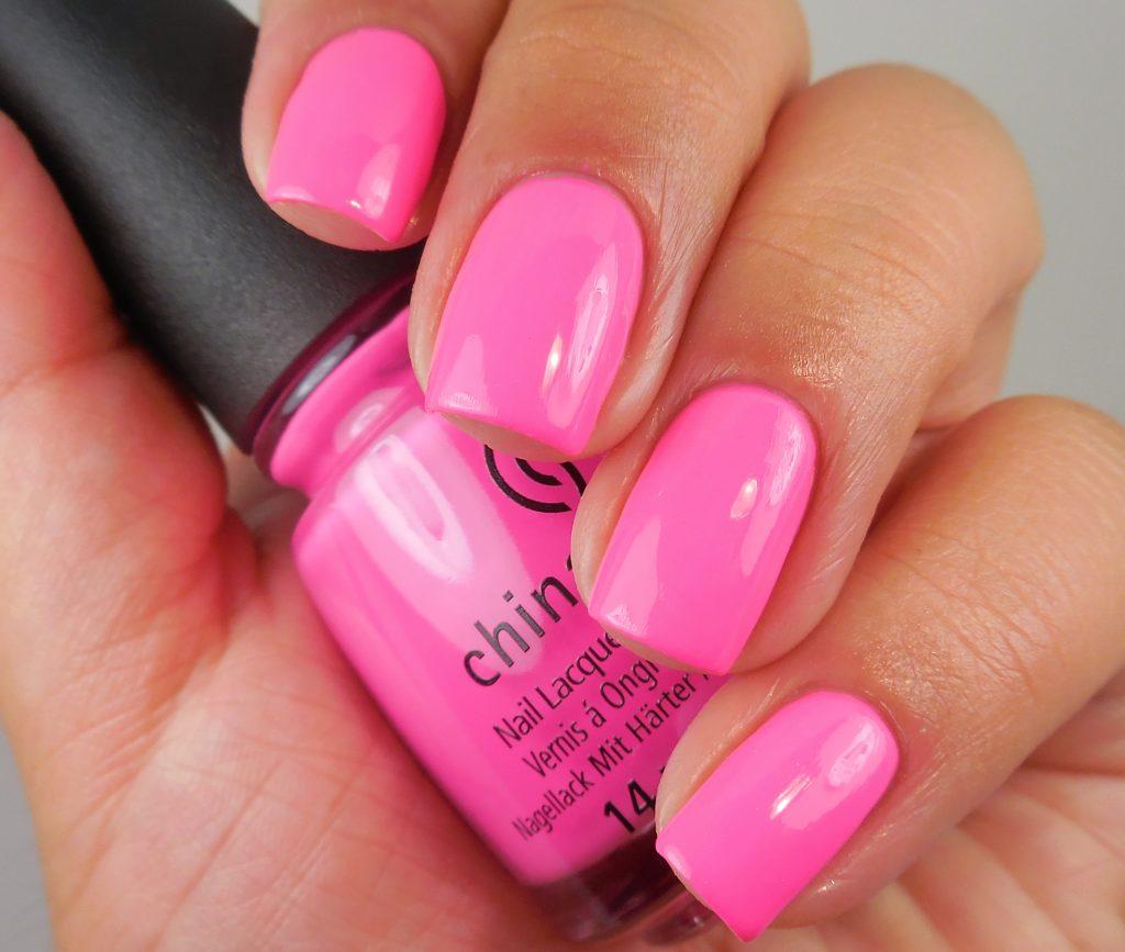 China Glaze I'll Pink To That 1
