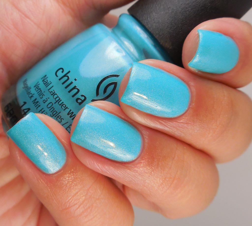 China Glaze What I Like About Blue 2