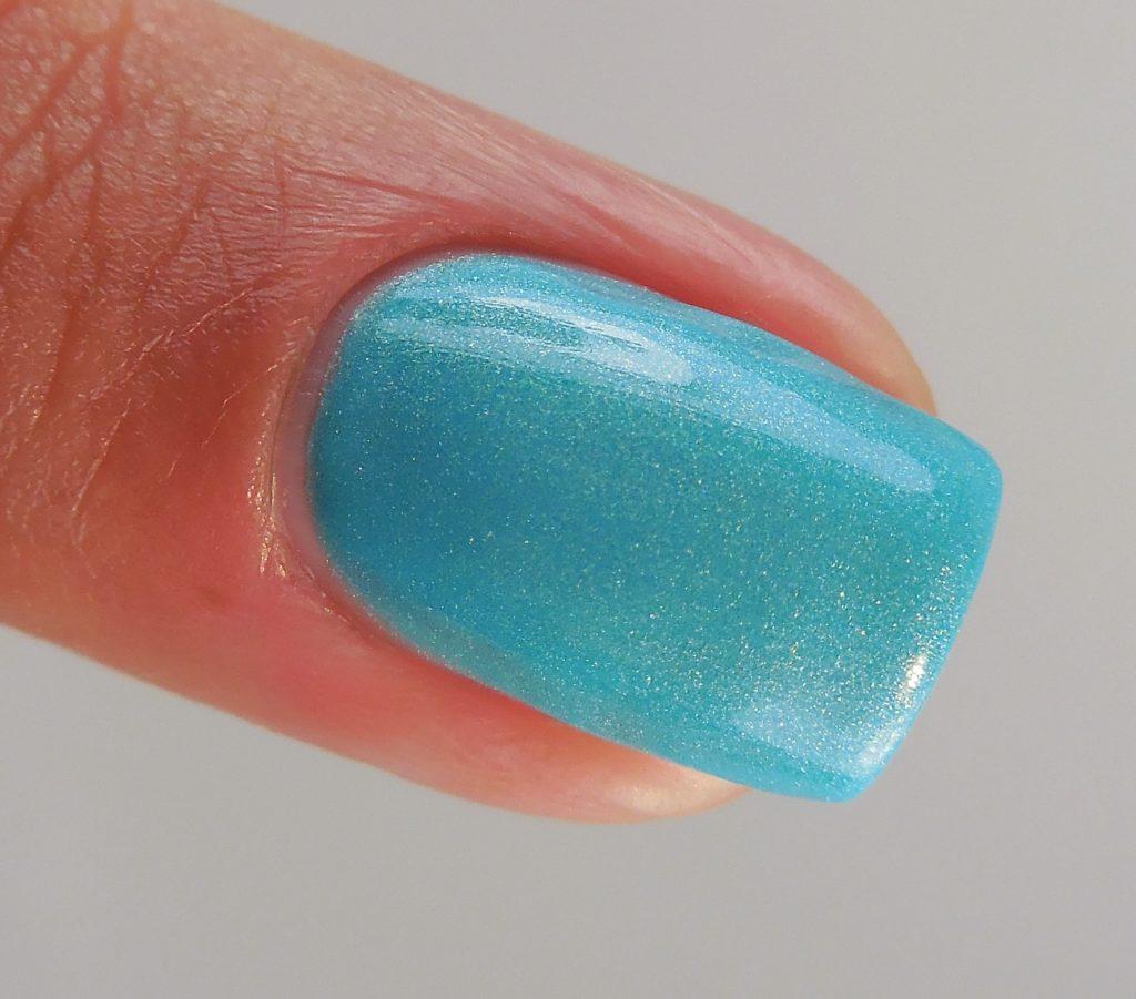 China Glaze What I Like About Blue 3