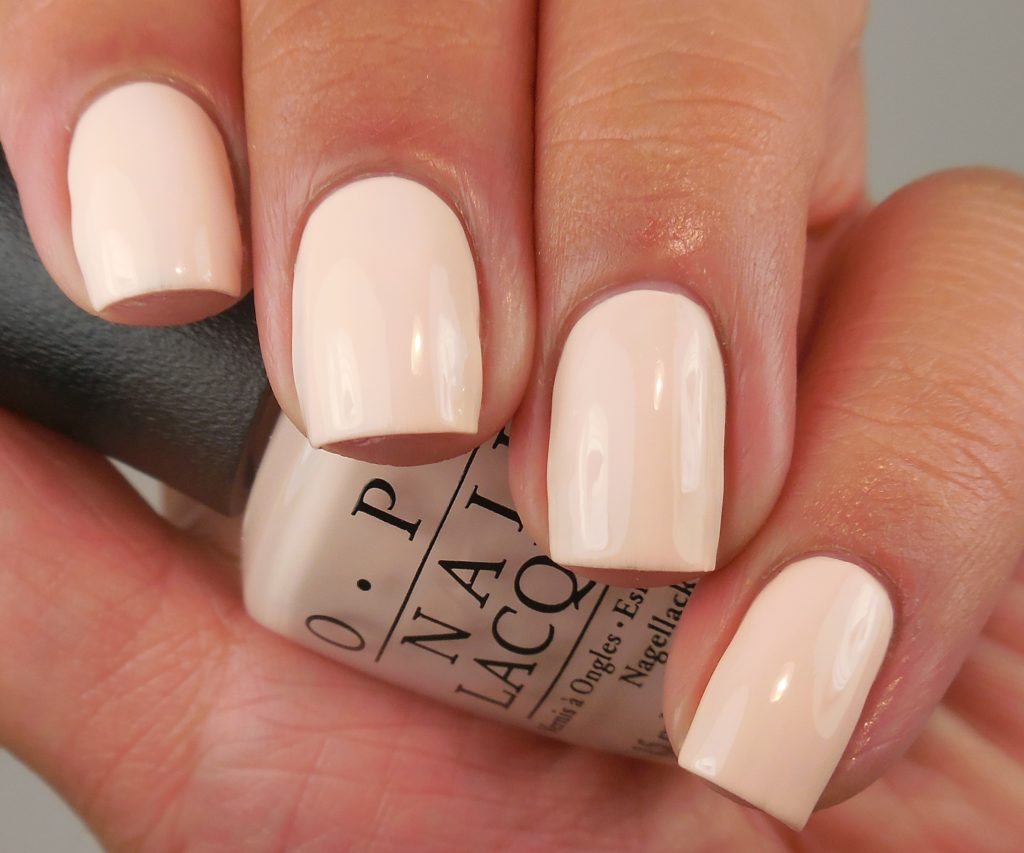 OPI Stop It I'm Blushing! 1