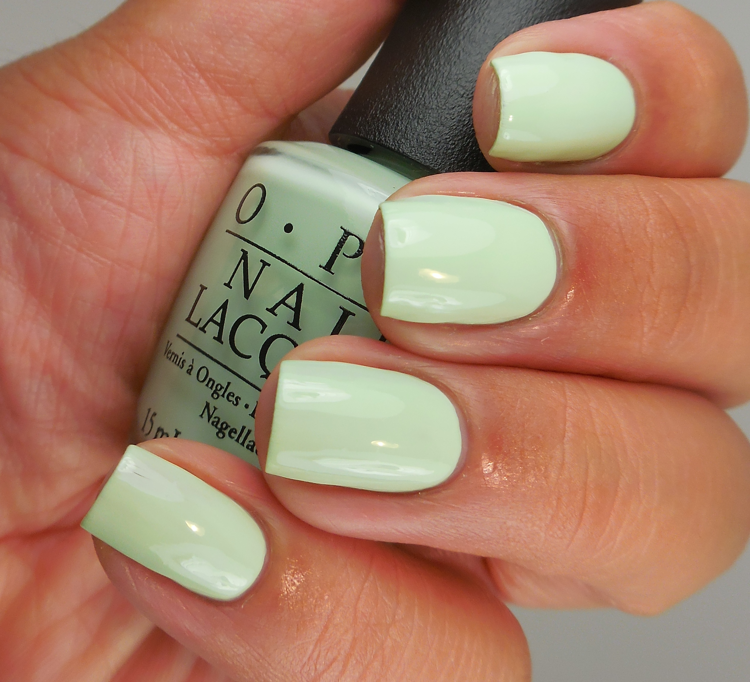 OPI This Cost Me A Mint 2 - Of Life and Lacquer