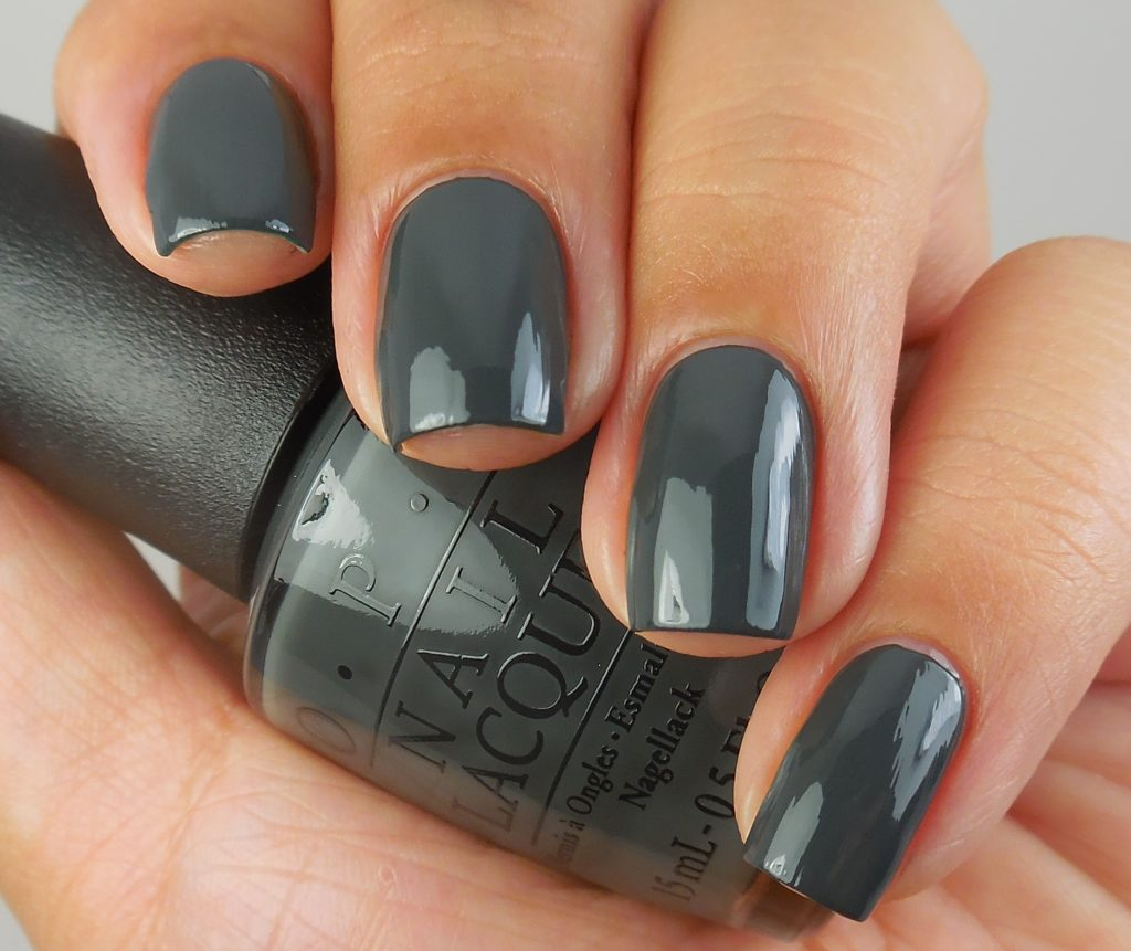 OPI Liv In The Gray 1