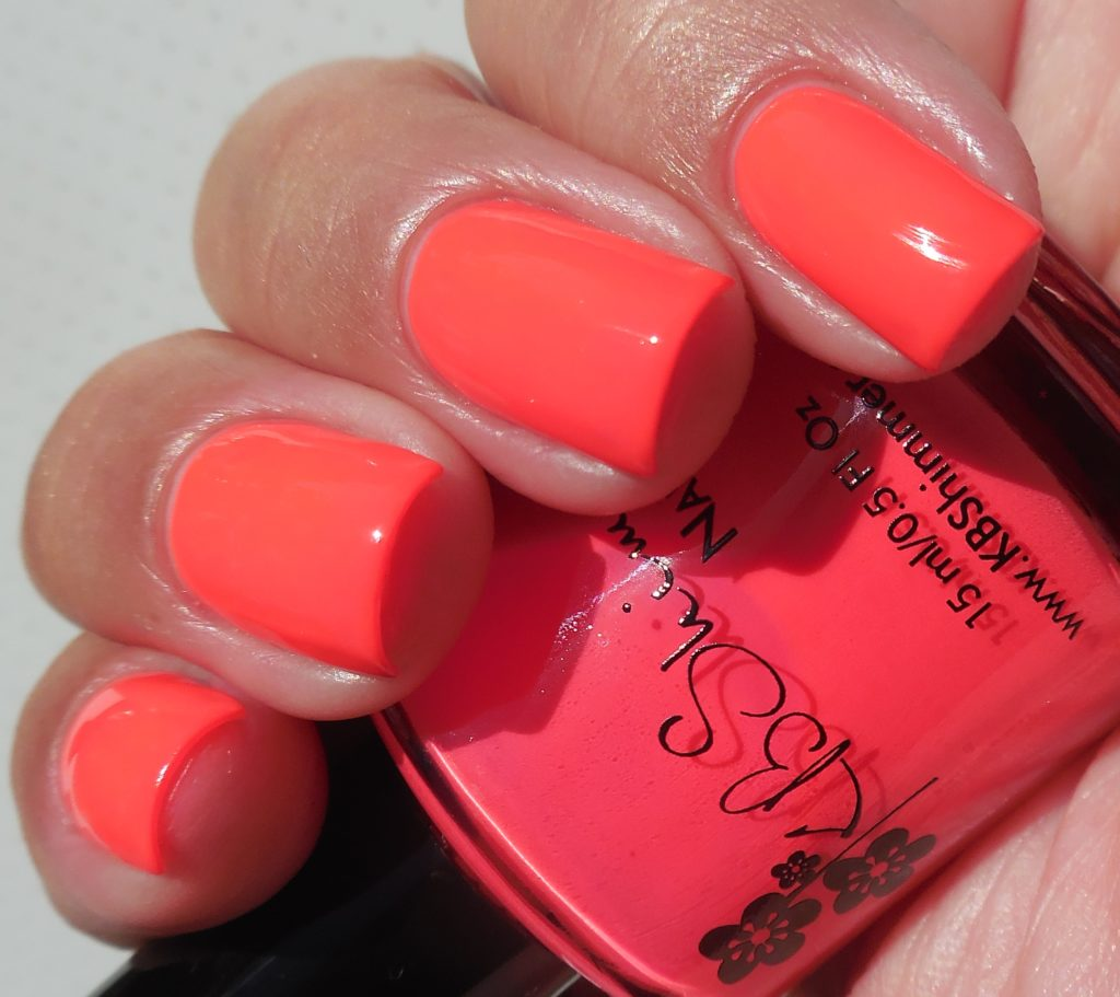 KBShimmer All The Bright Moves Collection Color Me Rad