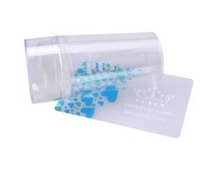 Pueen Transparent Soft Stamper