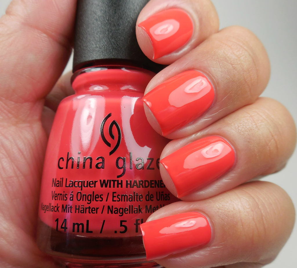China Glaze Shades of Paradise