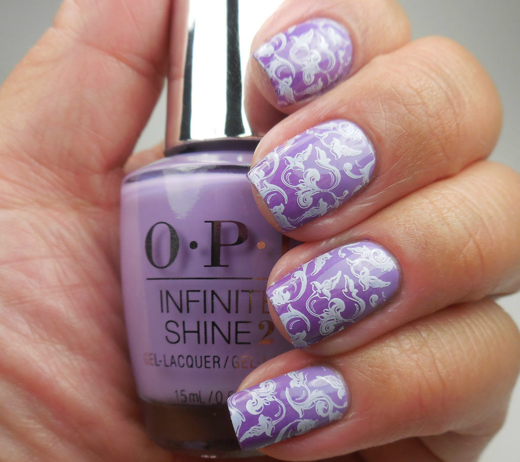 OPI Purple Gradient