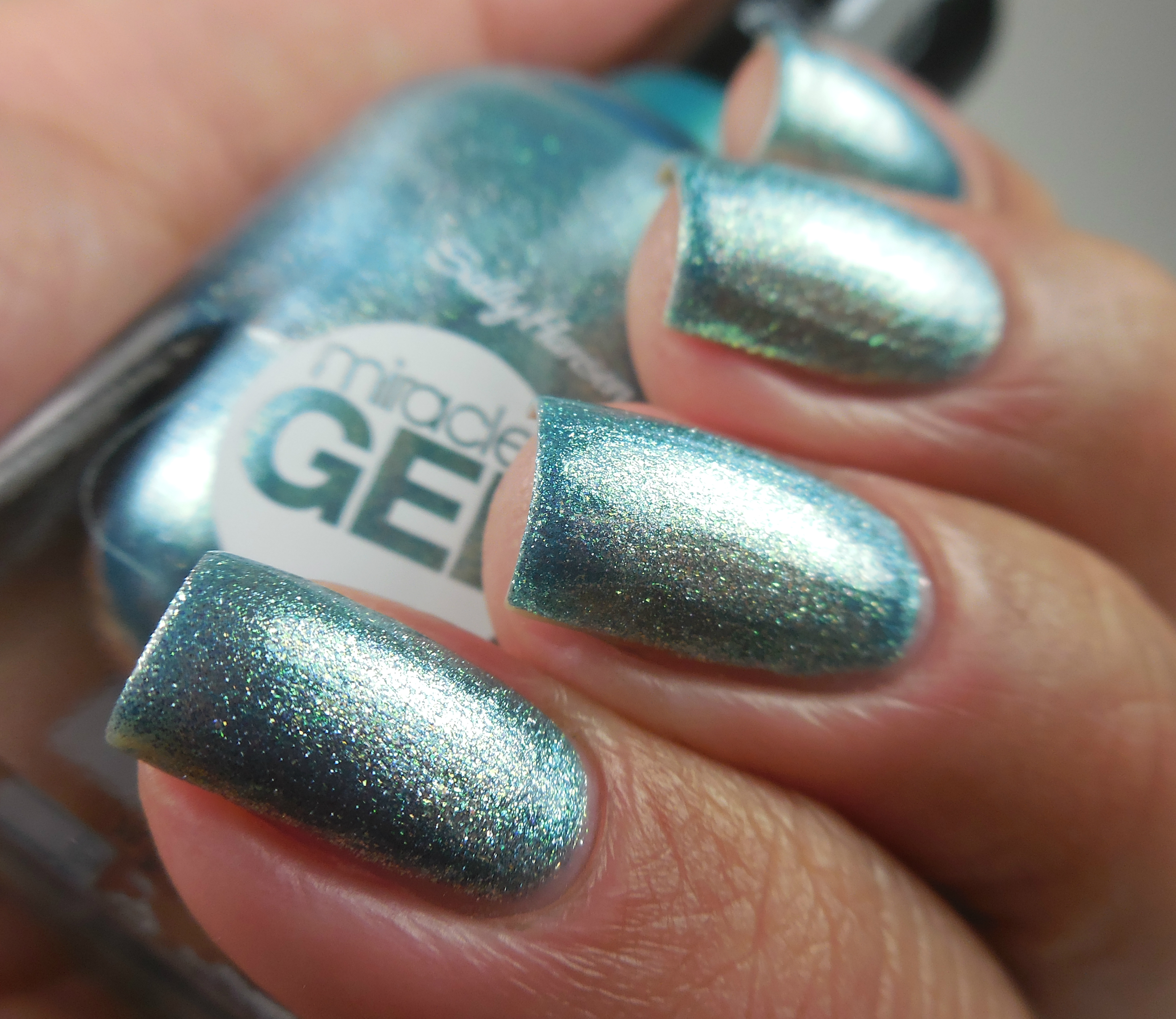 Sally Hansen Miracle Gel Sea Gals 2 - Of Life and Lacquer