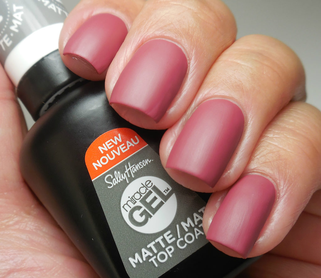 Sally Hansen Miracle Gel Matte Top Coat