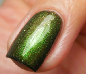 Geekish Glitter Lacquer Victims' Rights Week Duo