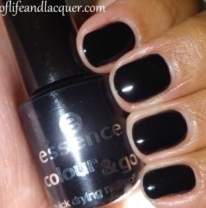 essence Black Is Black Swatch