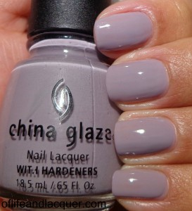 China Glaze Who's Wearing What Swatch