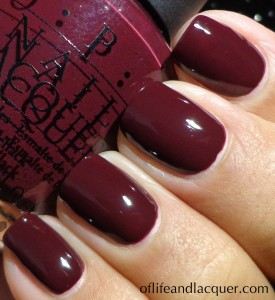 OPI We'll Always Have Paris Swatch