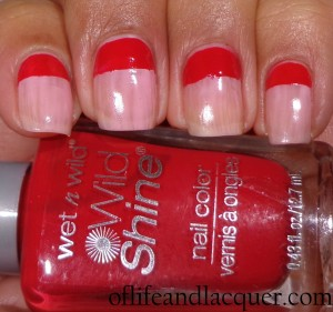 Wet N Wild Tickled Pink Wet N Wild Red Red
