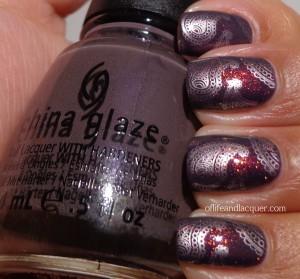 China Glaze Jungle Queen Max Factor Fantasy Fire BM 315