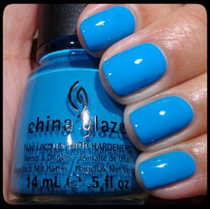 China Glaze Sunday Funday Swatch