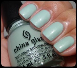 China Glaze Keep Calm, Paint On Swatch