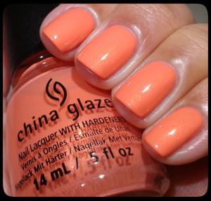 China Glaze Mimosas Before Manis Swatch