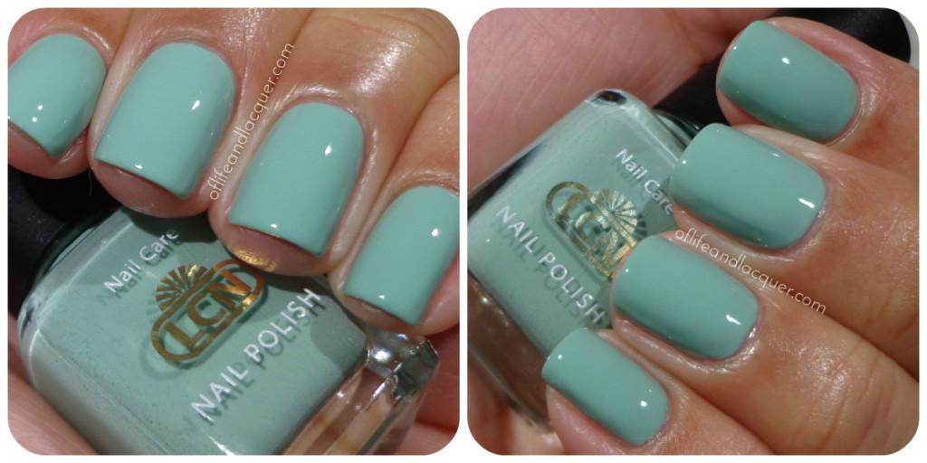 LCN I Love Mint Swatch
