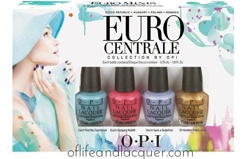 OPI Euro Centrale Minis