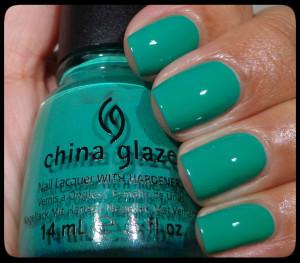 China Glaze Four Leaf Clover