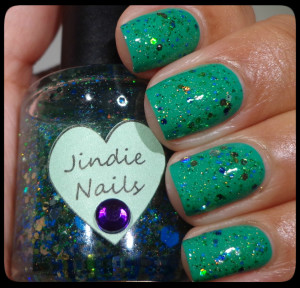 Jindie Nails Underwater Disco