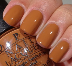 OPI A-piers To Be Tan 1