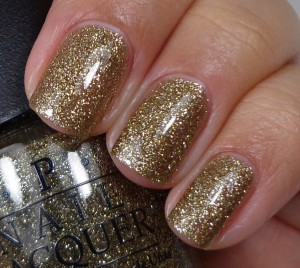 OPI All The Sparkly And Gold 1