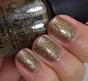 OPI All The Sparkly And Gold 2