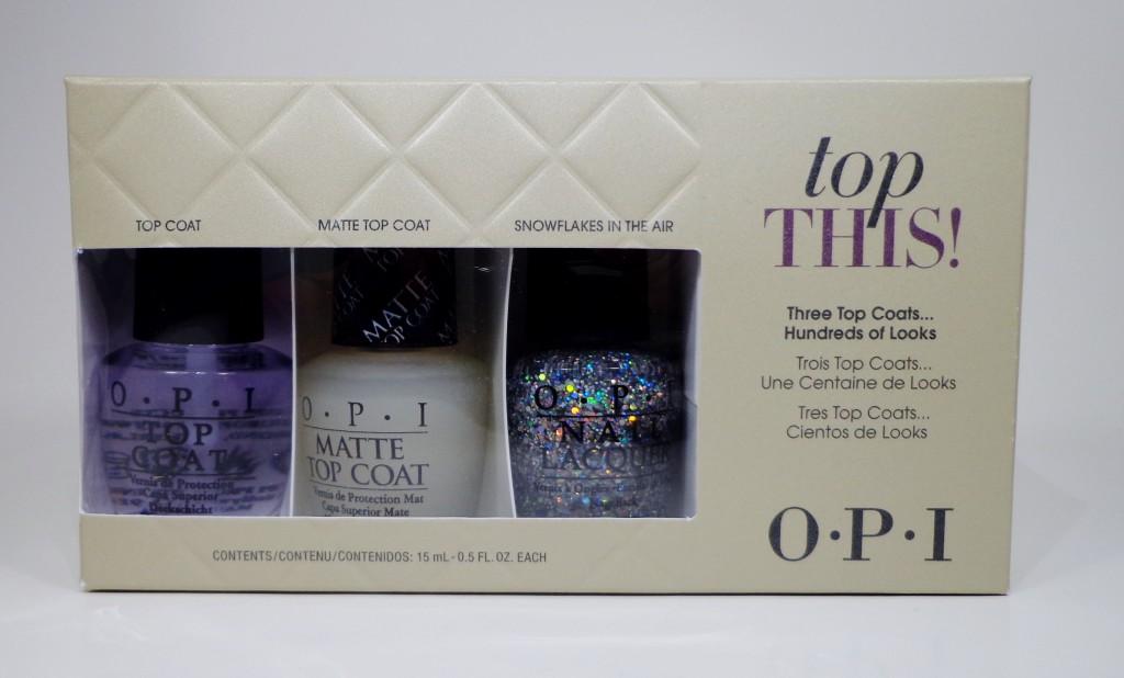 OPI Top This! Set